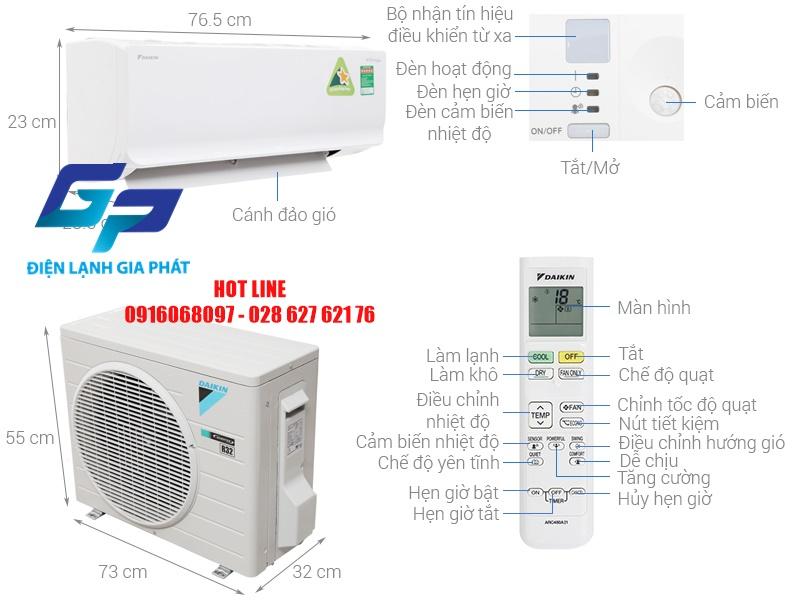 Tháo ráp máy lạnh Daikin quận 2